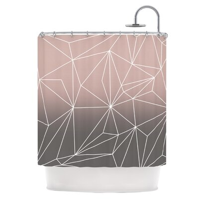 East Urban Home Shower Curtain