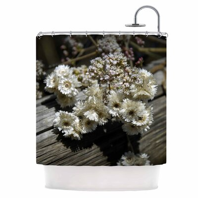 Rustic Flowers Shower Curtain