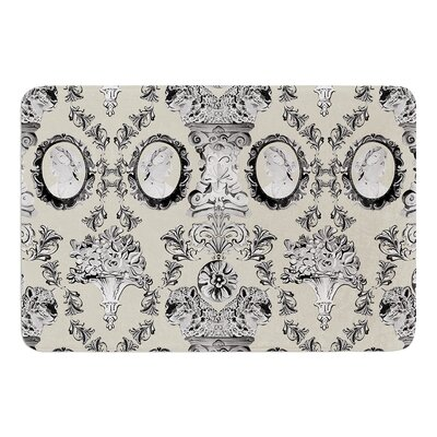 """Imperial Palace by DLKG Design Bath Mat Size: 24"""" W x 36"""" L"""