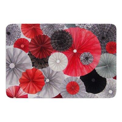 """Kyoto by Heidi Jennings Bath Mat Size: 17""""W x 24""""L"""
