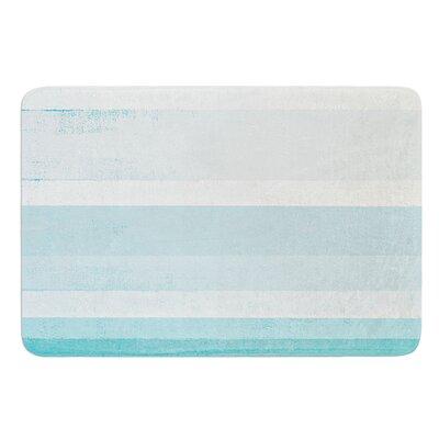 """Waves by CarolLynn Tice Bath Mat Size: 17""""W x 24""""L"""