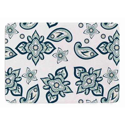 Batik Paisley by Gukuuki Bath Mat