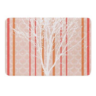"Spring Tree by Pellerina Design Bath Mat Size: 17""W x 24""L"