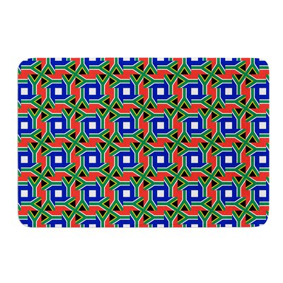 """South Africa by Bruce Stanfield Bath Mat Size: 17""""W x 24""""L"""