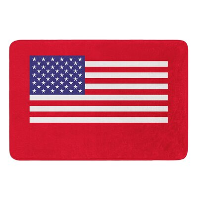 Flag of USA by Bruce Stanfield Bath Mat