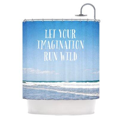 Let Your Imagination Run Wild Shower Curtain