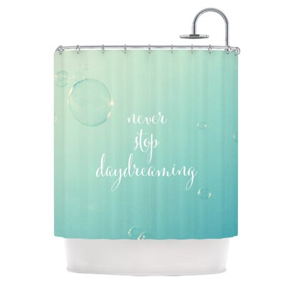 Never Stop Daydreaming Shower Curtain