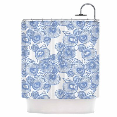 Shower Curtain Color: Jade / White