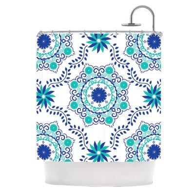Shower Curtain Color: Fuchsia