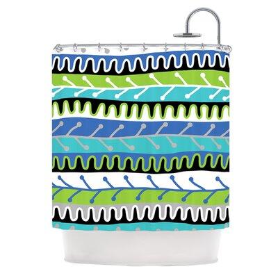 Shower Curtain Color: Blue