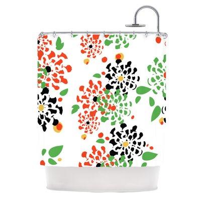 Multi Bouquet Shower Curtain