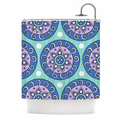 Mandala Dot Shower Curtain