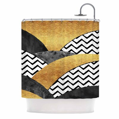 Chevron Hills Shower Curtain