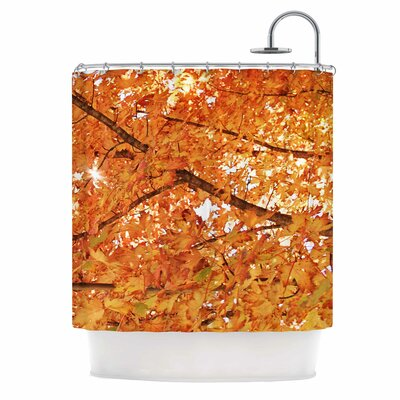 Fall Foliage Shower Curtain