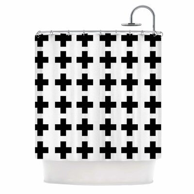 Swedish Cross Shower Curtain