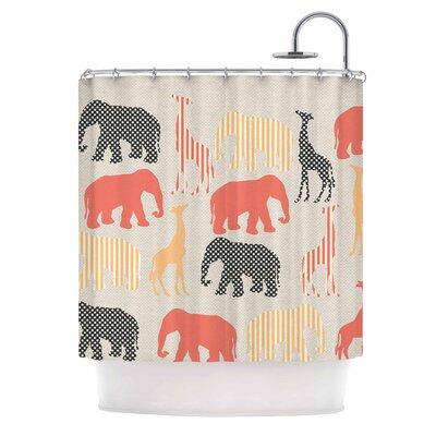 Zoo Shower Curtain