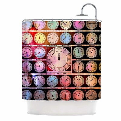 Time Space Shower Curtain