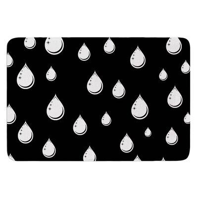 Raindrops by Suzanne Carter Bath Mat