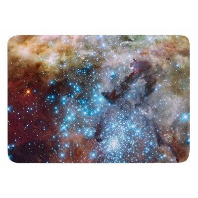 Star Cluster by Suzanne Carter Bath Mat