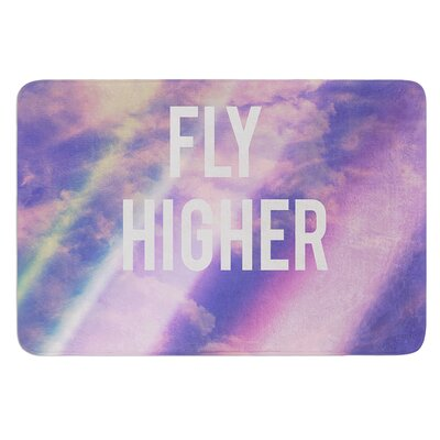 Fly Higher by Rachel Burbee Bath Mat