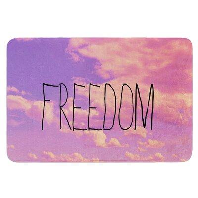 Freedom by Rachel Burbee Bath Mat