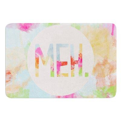Meh by Skye Zambrana Bath Mat