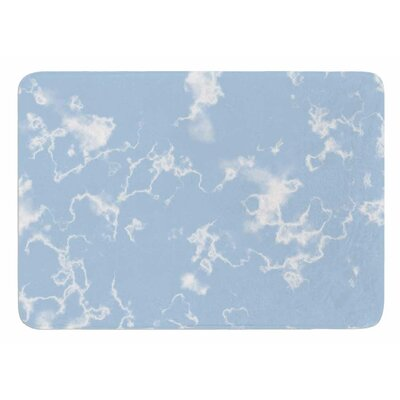 Marble Clouds by Vasare Nar Bath Mat