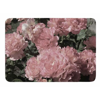 Blush Flowers by Susan Sanders Bath Mat