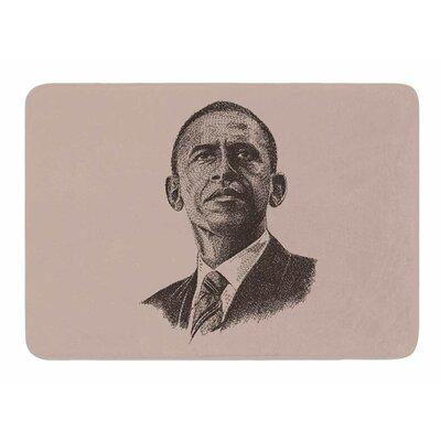 Barack Obama by BarmalisiRTB Bath Mat