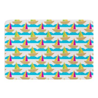 Beside the Seaside by Apple Kaur Designs Bath Mat