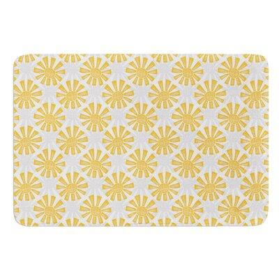 Sunburst by Apple Kaur Designs Bath Mat