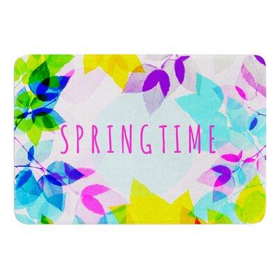 Seasons Springtime by Sreetama Ray Bath Mat