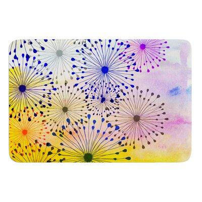 Bursting Blossoms by Sreetama Ray Bath Mat