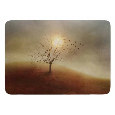 Lone Tree Love I by Viviana Gonzalez Bath Mat