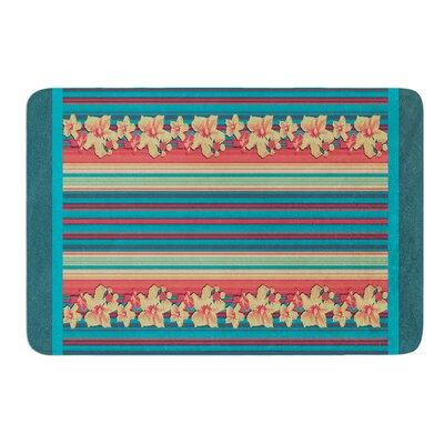 Mahalo Denim Stripe by Nina May Bath Mat