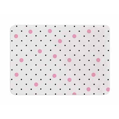 Pin Points Polka Dot by Project M Memory Foam Bath Mat