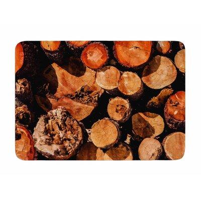 The Lumber Yard by Juan Polo Memory Foam Bath Mat