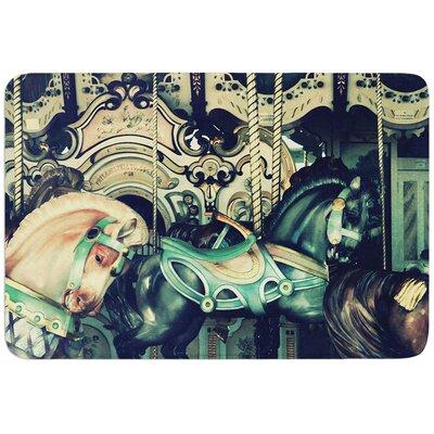 Carousel by Robin Dickinson Bath Mat