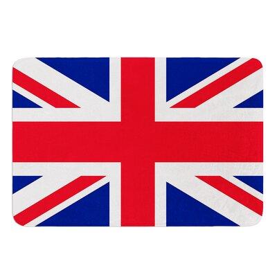Classic Union Jack by Bruce Stanfield Bath Mat