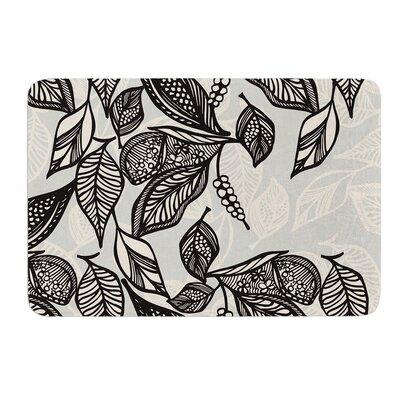 "Java Leaf by Gill Eggleston Bath Mat Size: 24"" W x 36"" L"