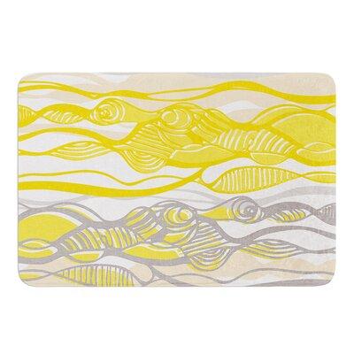 """Kalahari by Gill Eggleston Bath Mat Size: 17""""W x 24""""L"""