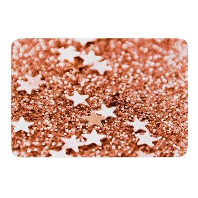 """Copper Glaze by Iris Lehnhardt Bath Mat Size: 17""""w x 24""""L"""