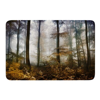 "Forest Mystics by Iris Lehnhardt Bath Mat Size: 17""w x 24""L"
