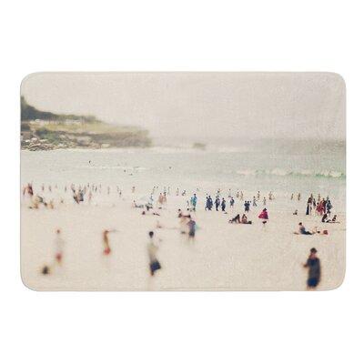 "Bondi Beach by Catherine McDonald Bath Mat Size: 17""W x 24"" L"