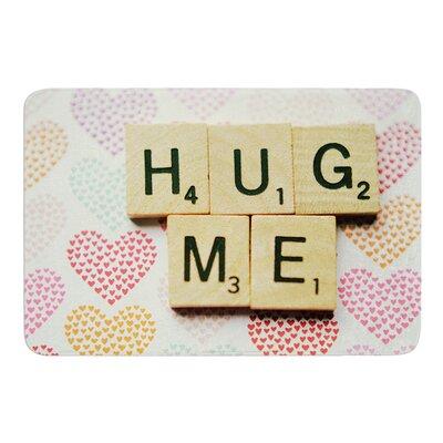 """Hug Me by Cristina Mitchell Bath Mat Size: 24"""" W x 36"""" L"""