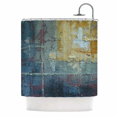 Indecision by Carol Schiff Shower Curtain