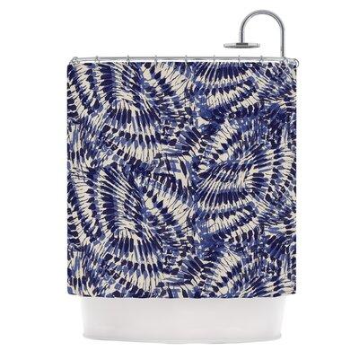 Iggy Palms by Gukuuki Shower Curtain