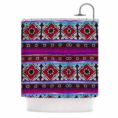 Sindhi Ajrak by S Seema Z Shower Curtain