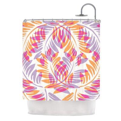 Summer Fern by Alison Coxon Shower Curtain
