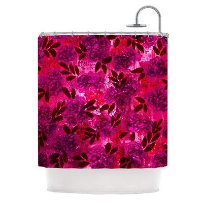 Grunge Flowers IV by Ebi Emporium Shower Curtain